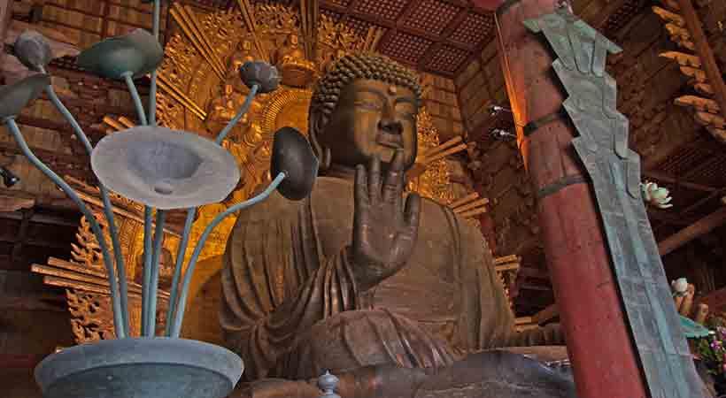 奈良の大仏の写真