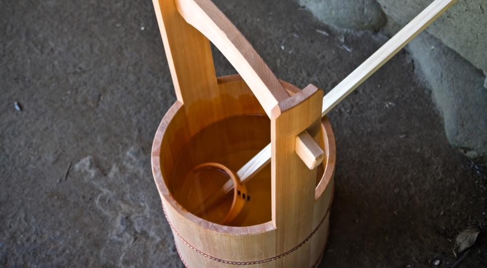 水桶の写真